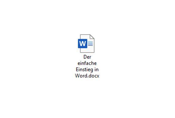 Online-Veranstaltung: Der einfache Einstieg in Word